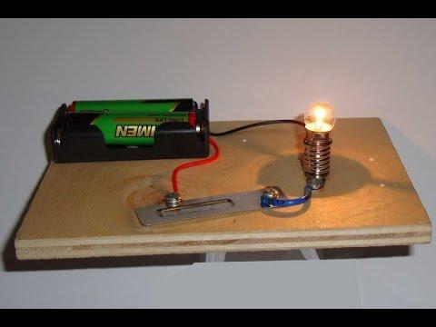 Basit Elektrik Devresi Montajı. (EDS Elektrik Deney Seti)