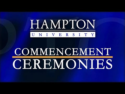 Hampton University - 2021 School of Pharmacy Degree Awarding Ceremony