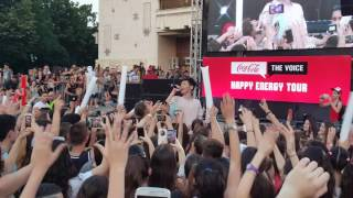 Kristian Kostov - Ne Si Za Men / Happy Energy Tour CocaCola 29.06.2017