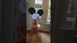 Hayden testing deadmau5 head