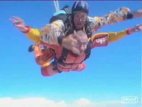 Namibian skydive