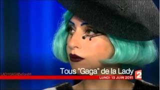 Lady Gaga Intro Interview Journal de 20h
