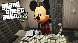 MICKEY MOUSE, DONALD DUCK AND GOOFY IN GTA 5!