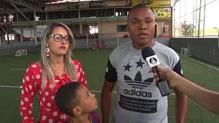 Grêmio contrata garoto de 8 anos.