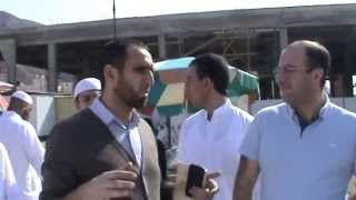 Haci Namiq umra ziyareti uhud dagi Hezreti Hemze seyidus suadanin ziyaretinde.