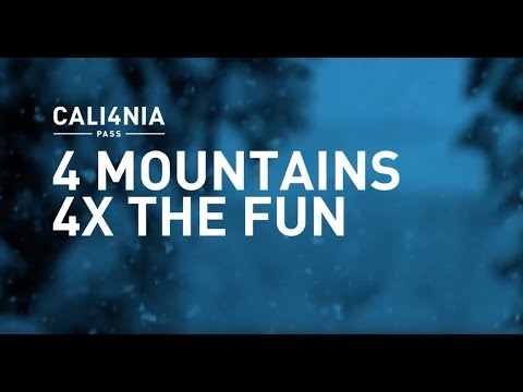 Cali4nia Pass    4 Mountains 4 X the Fun