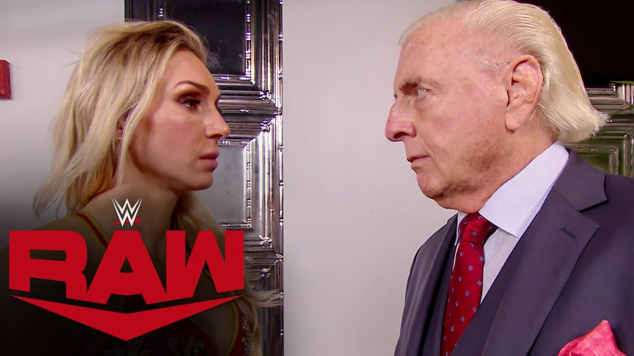 WWE - Charlotte Flair confronts Lacey Evans and Ric Flair: Raw, Jan. 25, 2021