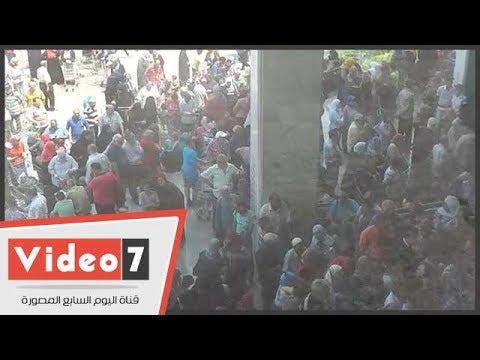 """لليوم الثانى.. معرض """"سوبر ماركت اهلا رمضان"""" يشهد اقبالا كبيرا"""