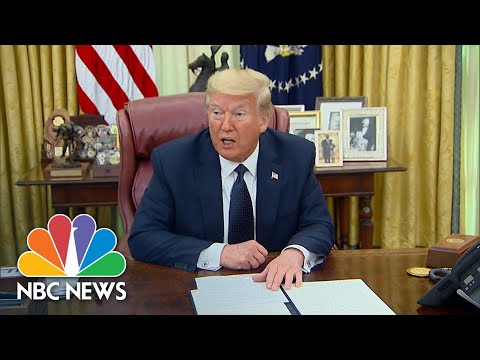 Trump Signs Executive Order For Regulation Of Social Media's 'Unchecked Power' | NBC News NOW
