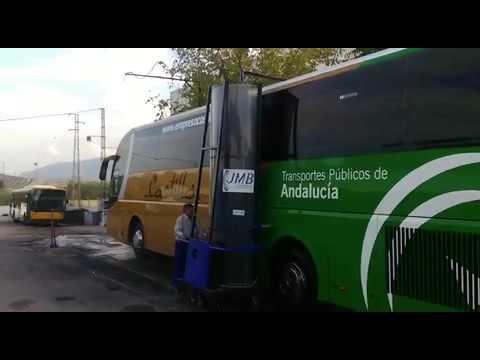 Monocepillo Eléctrico para el Lavado de Buses en Jaen con JMB