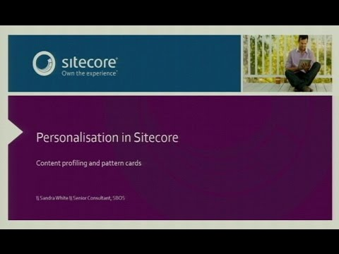 Sitecore Business User Group, September 2014 - Personalisation in Sitecore