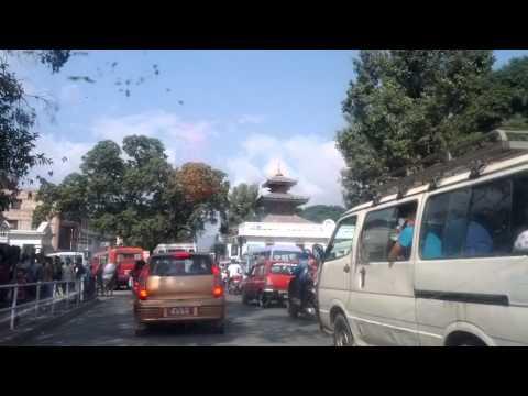 Kathmandu, Nepal Oct,2012 – Street Traffic