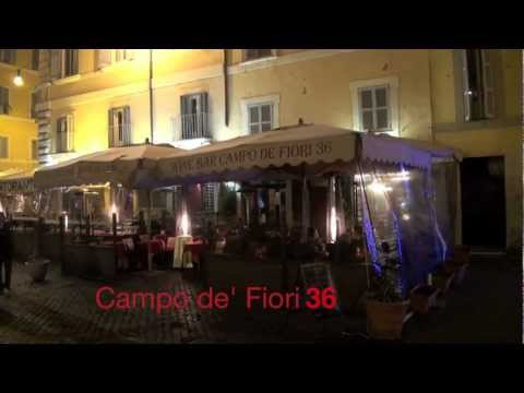 Campo de' Fiori 36 , Roma , Italia ( Rome , Italy ) video by Taras Bokan,Тарас Бокань
