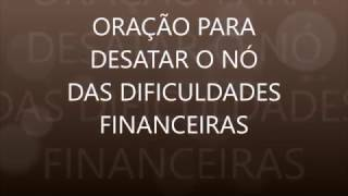PODEROSA ORAÇÃO PARA DIFICULDADES FINANCEIRAS