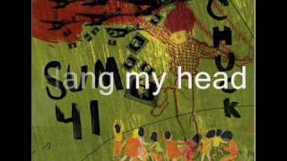 Sum41 - Noots Lyrics Lyrics Lyrics