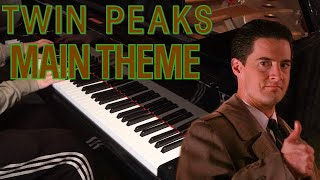 Twin Peaks - Opening/Main Theme (Piano)
