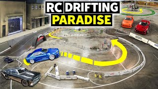 This Car Shop Turned Into a RC Drift House: Super G Drift Arena!
