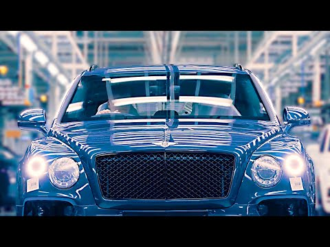 Bentley factory 2020 ? Bentayga Speed production line ? Luxury SUV factory