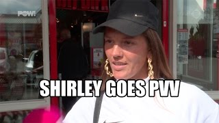 Shirley goes PVV