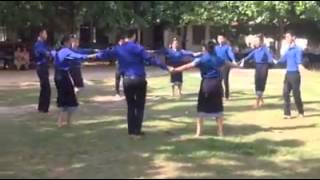 lao traditional dance Phaosavanh-ຟ້ອນເຜົ່າສະຫວັນ(Lysee savanh)