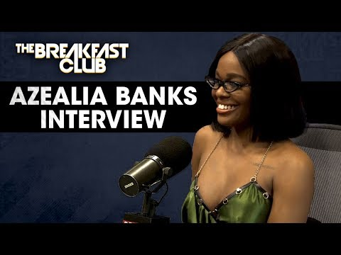 Azealia Banks Drops New Music And Drags Cardi B, RZA In Breakfast Club Therapy Session