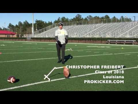 Christopher Freibert, Prokicker.com Kicker Punter, Class of 2018