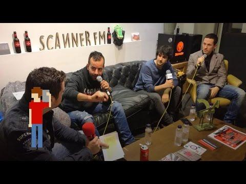 Los Danko con los 'youtubers' de El canal de Chris y Sergindsegasonic | scannerFM