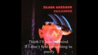 Black Sabbath - Paranoid(with lyrics)