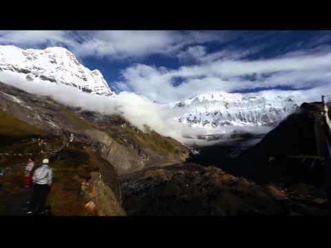 Panorama of the Annapurna Range 2