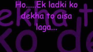 Ek Ladki ko Dekha -1942, ek love story width=