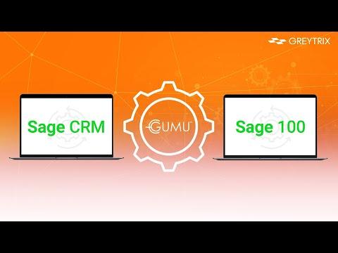 GUMU™ Integration of Sage CRM with Sage 100