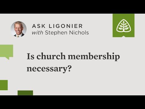 Is church membership necessary?