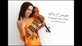 "2Pac ""Changes"" - violin freestyle cover"