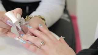 Negative Space Nail Art Tutorial With Sophy Robson  | Beauty School