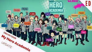 "「English Cover」My Hero Academia S3 ED ""UPDATE"" 『僕のヒーローアカデミア』【Kelly Mahoney】- Studio Yuraki"