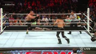 John Cena & Prime Time Players vs  Seth Rollins & The New Day   Champions vs  Challengers Match  Raw