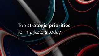 Strategic Marketing Priorities 2017