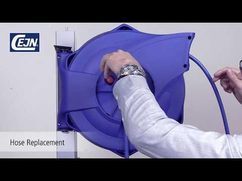 CEJN Safety Reel - Hose change