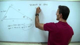 Imagen en miniatura para Trigonometría - Teorema del seno