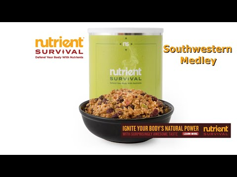 Nutrient Survival Southwestern medley product review