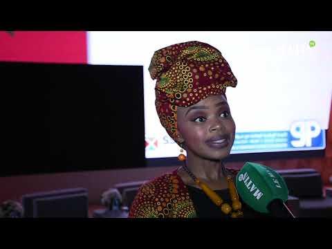 Video : La petite fille de Mandela crée l'émotion au 1er Forum africain de la sécurité routière