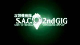 Ghost in the Shell: Stand Alone Complex 2nd Gig Introduction Sequence (Widescreen)