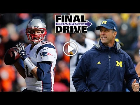Final Drive: Harbaughs Team Up With Tom Brady