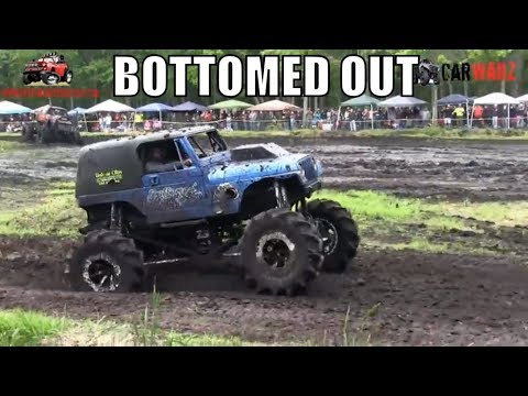 BOTTOMED OUT JEEP First Run At Perkins Spring Mud Bog