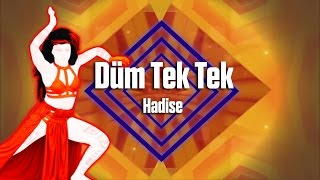 Just Dance 2017 - Düm Tek Tek by Hadise - Fanmade Mash-Up