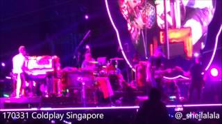 170331 Coldplay - Sky Full Of Stars [LIVE @ Coldplay Singapore Concert]