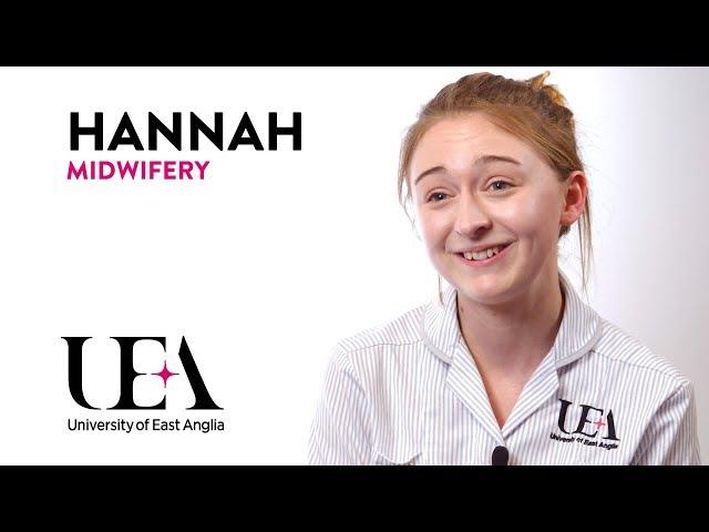 Midwifery: Hannah's story - video