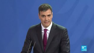 """Pedro Sánchez: """"defender la democracia frente al miedo"""""""