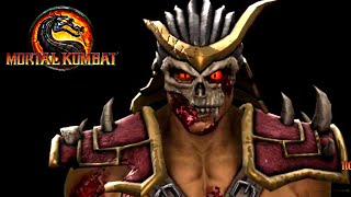 Mortal Kombat 9 (2011) - Shao Khan Bio and 3D Model