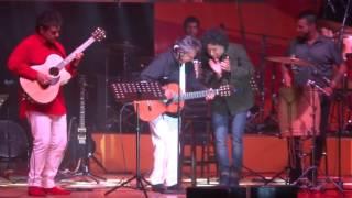 Manuel García, Ángel Parra padre e hijo. Teatro Caupolicán. 05/12/2015